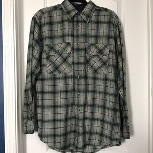 David Taylor Mens Flannel Button Down